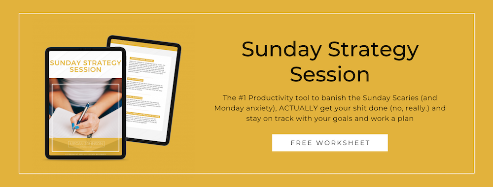 Business coach for new businesses sunday strategy productivity for business owners