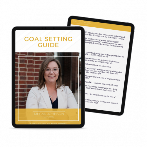goal setting for solopreneurs and new business owners megan johnson